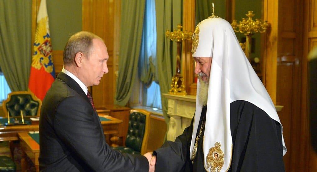 Патриарх Кирилл благодарен Владимиру Путину за поддержку просветительских и благотворительных проектов Церкви