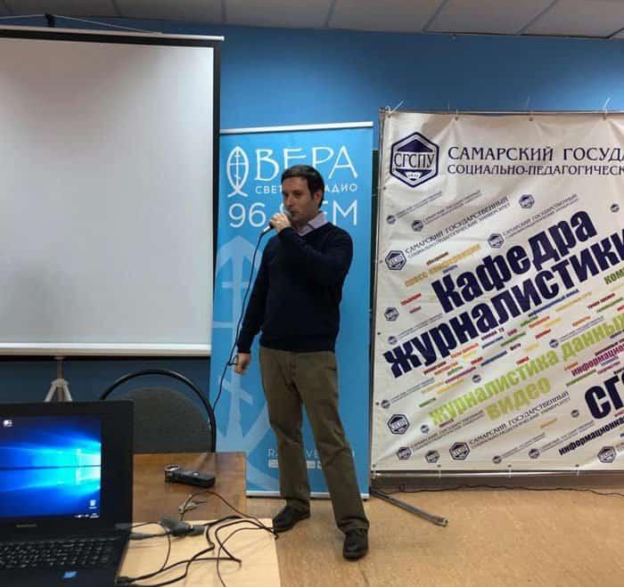 Журналисты «Фомы», «Веры» и «Спаса» встретились с самарскими студентами