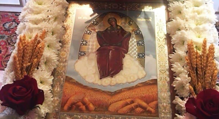 Церковь празднует память иконы Богородицы «Спорительница хлебов»