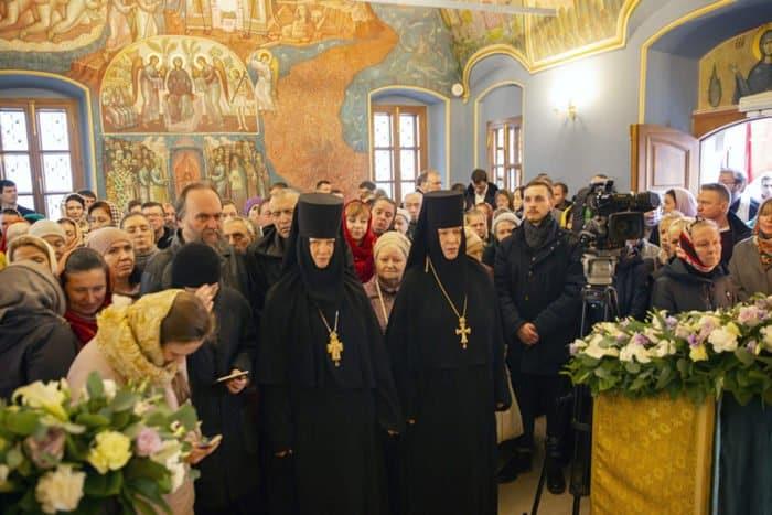 В Высоко-Петровском монастыре освятили обновленный храм Толгской иконы