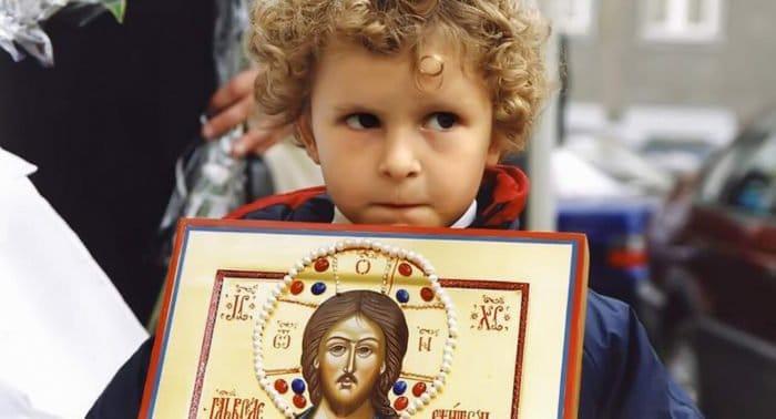 Как выбрать икону для ребенка?