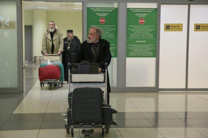Прибытие домой: в Москве встретили делегацию Архиепископии приходов русской традиции