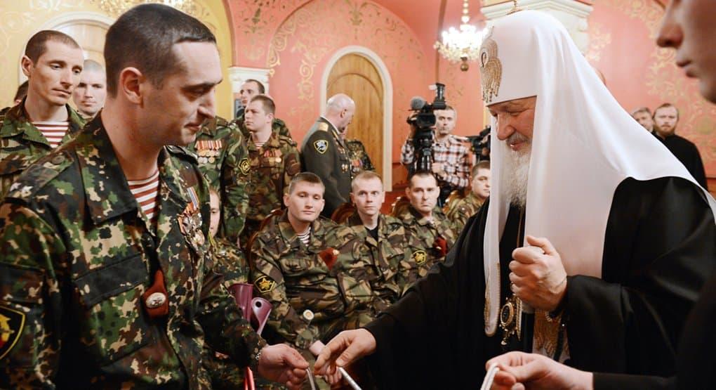 Глава Росгвардии поздравил патриарха Кирилла с днем рождения, отметив его духовный авторитет среди воинов