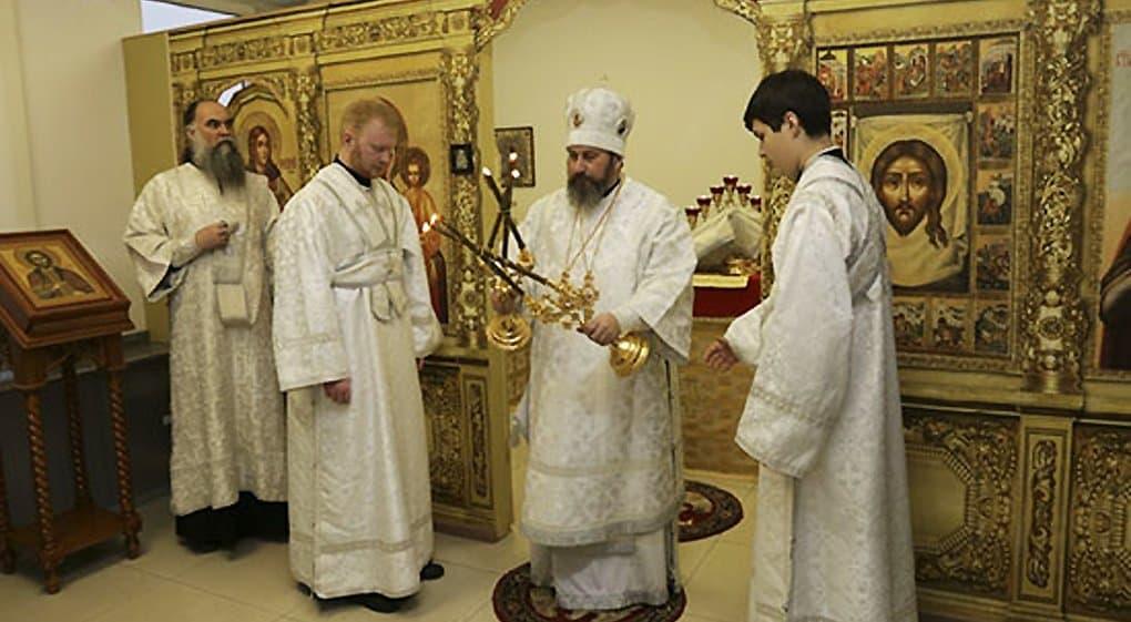 Освящен домовый храм Сухопутных войск России