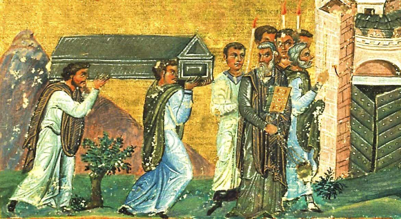 Церковь празднует перенесение мощей Игнатия Богоносца