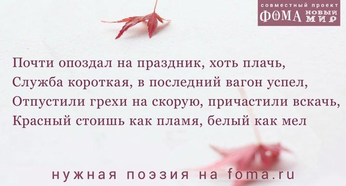 Поэзия Андрея Анпилова: Терпение и радость