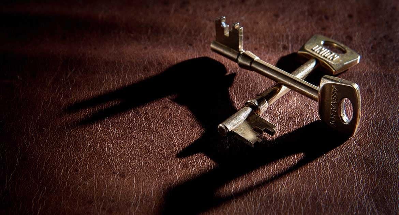 Какова форма ключей апостола Петра?