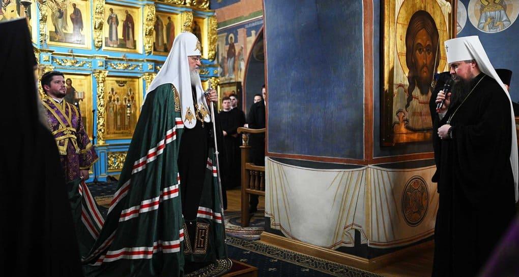В Новоспасский монастырь Москвы переданы частицы мощей Илариона и Варсонофия Великих
