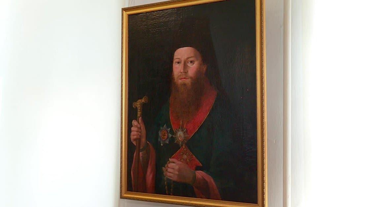 Найден портрет первого епископа Калужского Феофилакта