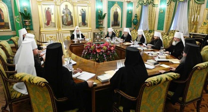Синод Русской Церкви примет решение в связи с поминовением архиепископом Кипрским главы ПЦУ