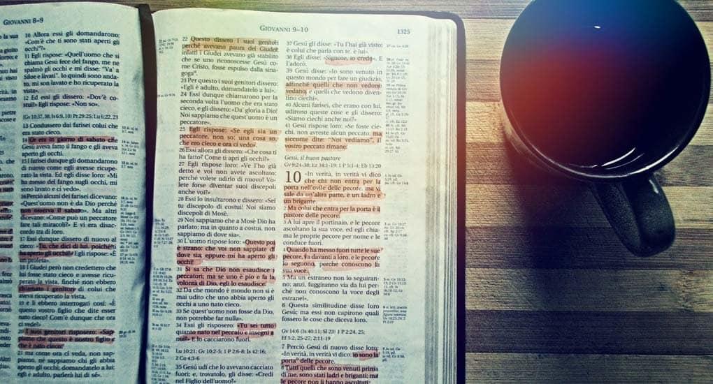 Можно ли выделять текст в Библии?
