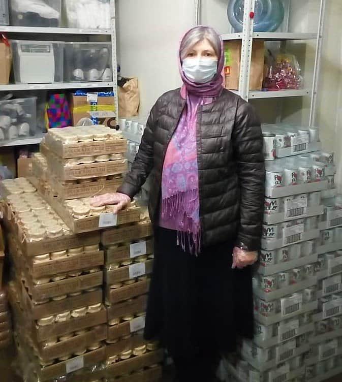Представители бизнеса помогают подопечным службы «Милосердие» в условиях пандемии