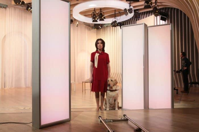 Слепая девушка Регина Парпиева будет вести ток-шоу на «Спасе»