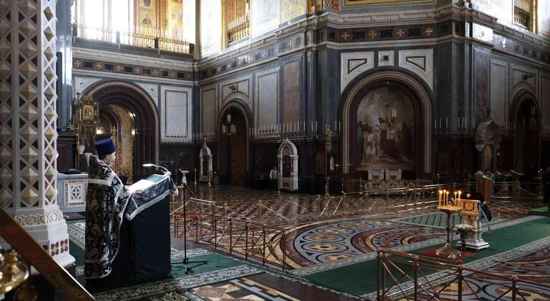 С 13 по 19 апреля прихожане не смогут посещать службы в храмах и монастырях Москвы и области