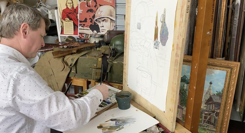 Синодальный отдел организовал для детей онлайн мастер-класс по рисованию
