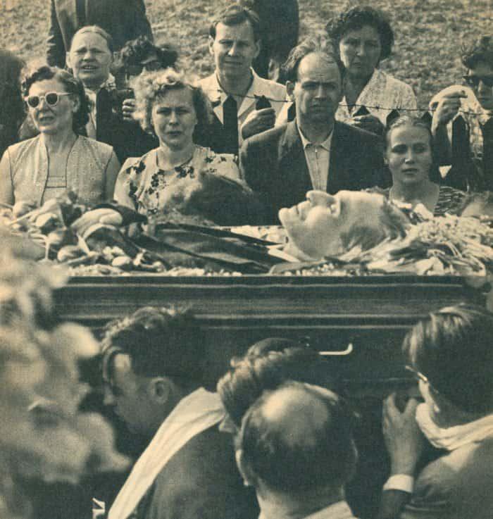 Похороны Бориса Пастернак