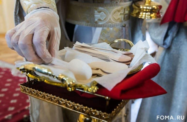 В Москве и Подмосковье прошли первые богослужения с участием прихожан после послабления режима самоизоляции. Фото