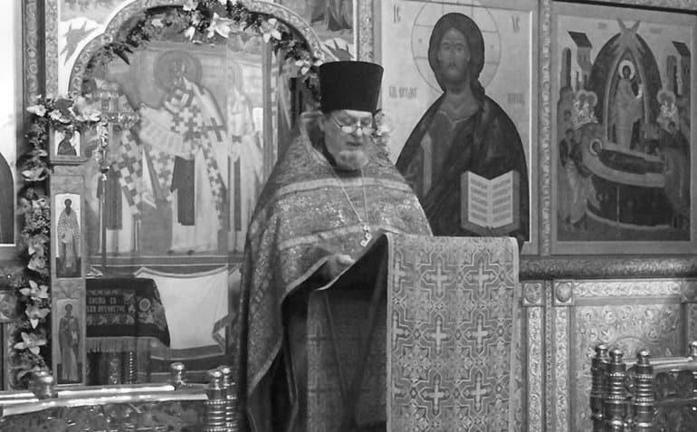 Умер настоятель Успенского храма в Казачьей слободе протоиерей Михаил Васильев