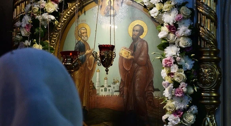 Церковь празднует память святых апостолов Петра и Павла