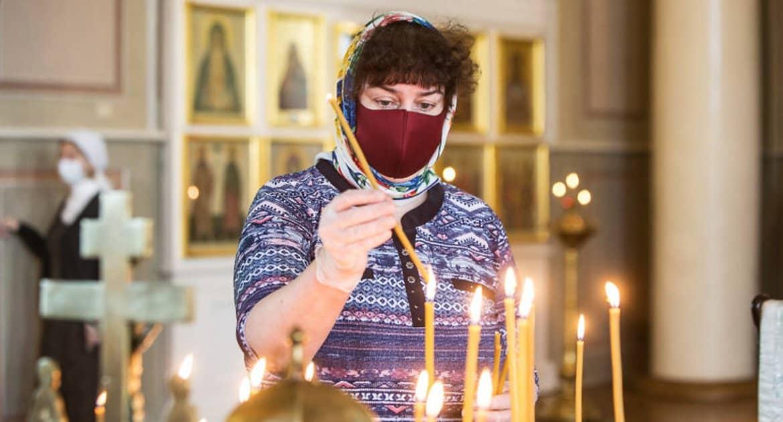 В Церкви надеются, что прихожане будут соблюдать санитарные меры в храмах