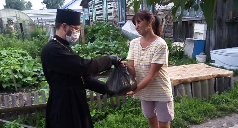 За три месяца продуктовую помощь от Церкви получили более 23 тысяч нуждающихся