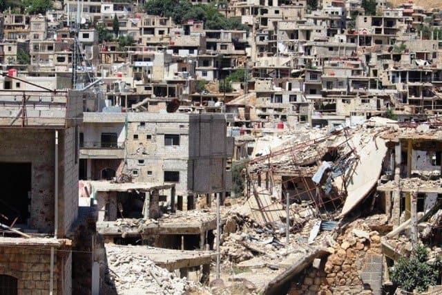 Успенскому храму в сирийском Забадани передали помощь из России