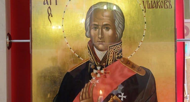 В России вспоминают прославление в чине святых адмирала Федора Ушакова