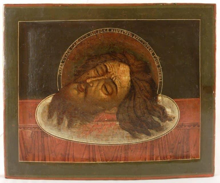 Что скрыл Караваджо на своей картине «Обезглавливание Иоанна Крестителя», и другие загадки известных изображений великого пророка