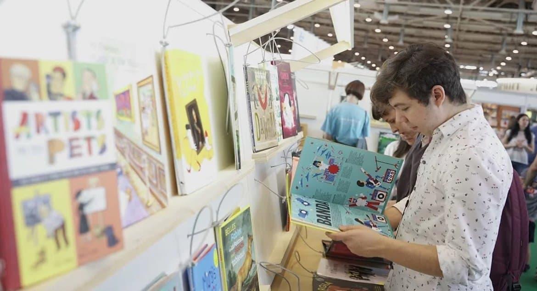 Московская международная книжная ярмарка впервые проходит в Манеже и в двух форматах
