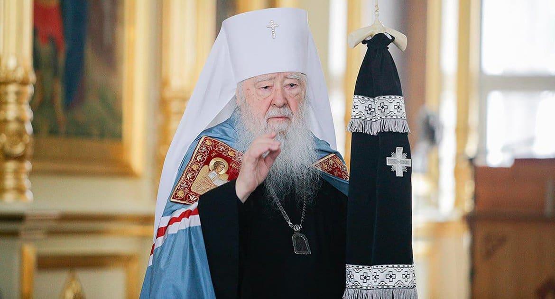 Митрополит Крутицкий и Коломенский Ювеналий отмечает 85-летие