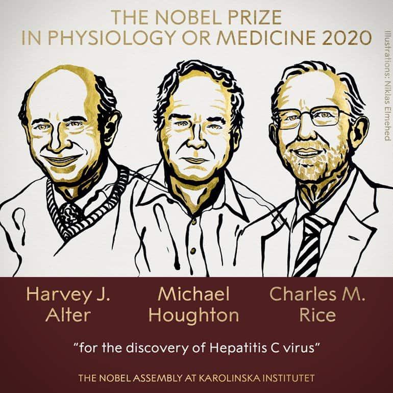 Нобелевскую премию по медицине присудили за открытие вируса гепатита С