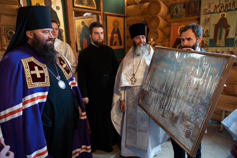 Приходской храм художников освятили в честь Андрея Рублева в Москве