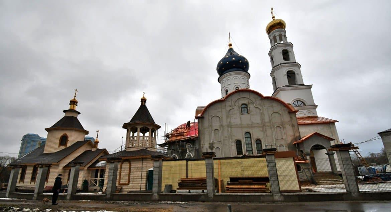 К концу ноября в Москве планируют ввести в строй храм для сотрудников МЧС