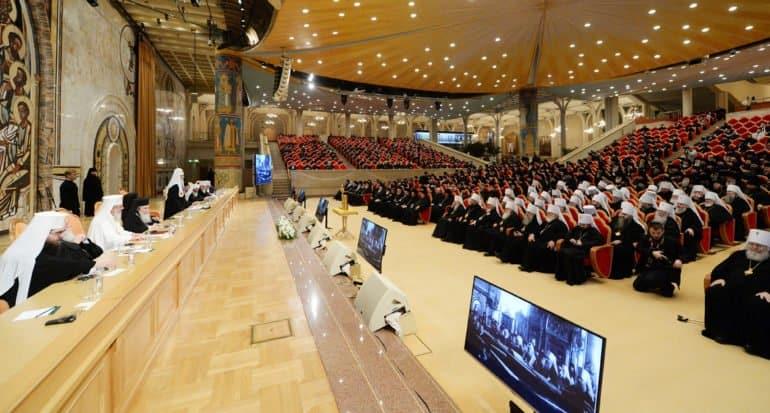 Архиерейский Собор Русской Церкви перенесен с ноября 2021 года на май 2022-го
