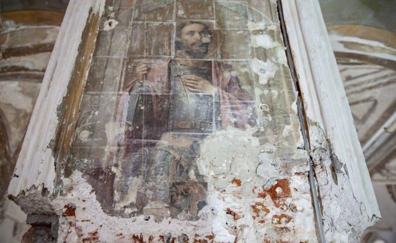 Считавшиеся утраченными фрески нашли в Высоко-Петровском монастыре Москвы