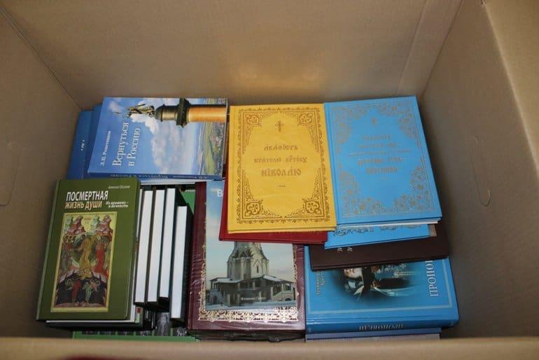 Калужская епархия передала духовную литературу для пациентов ковид-отделений