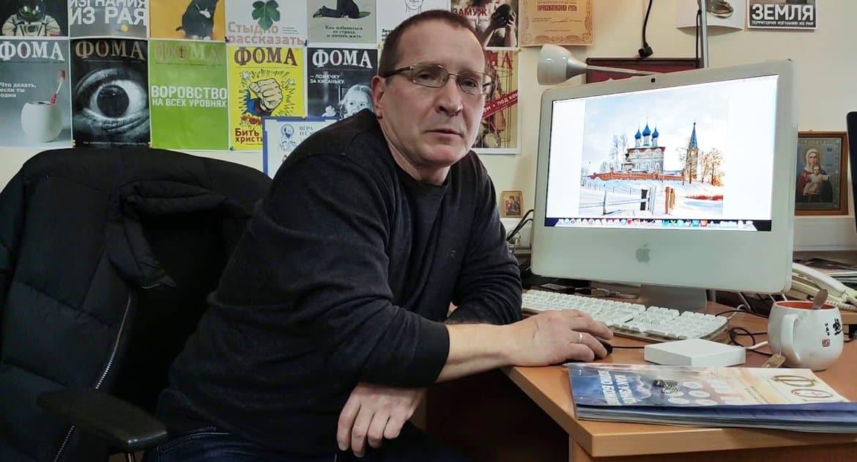 Фотокорреспондент «Фомы» Владимир Ештокин удостоен Патриаршей медали