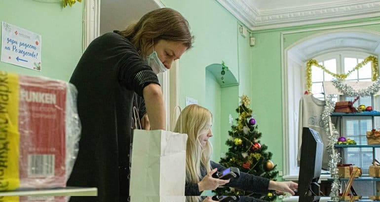 Служба «Милосердие» собрала 13,5 тысяч рождественских подарков для нуждающихся