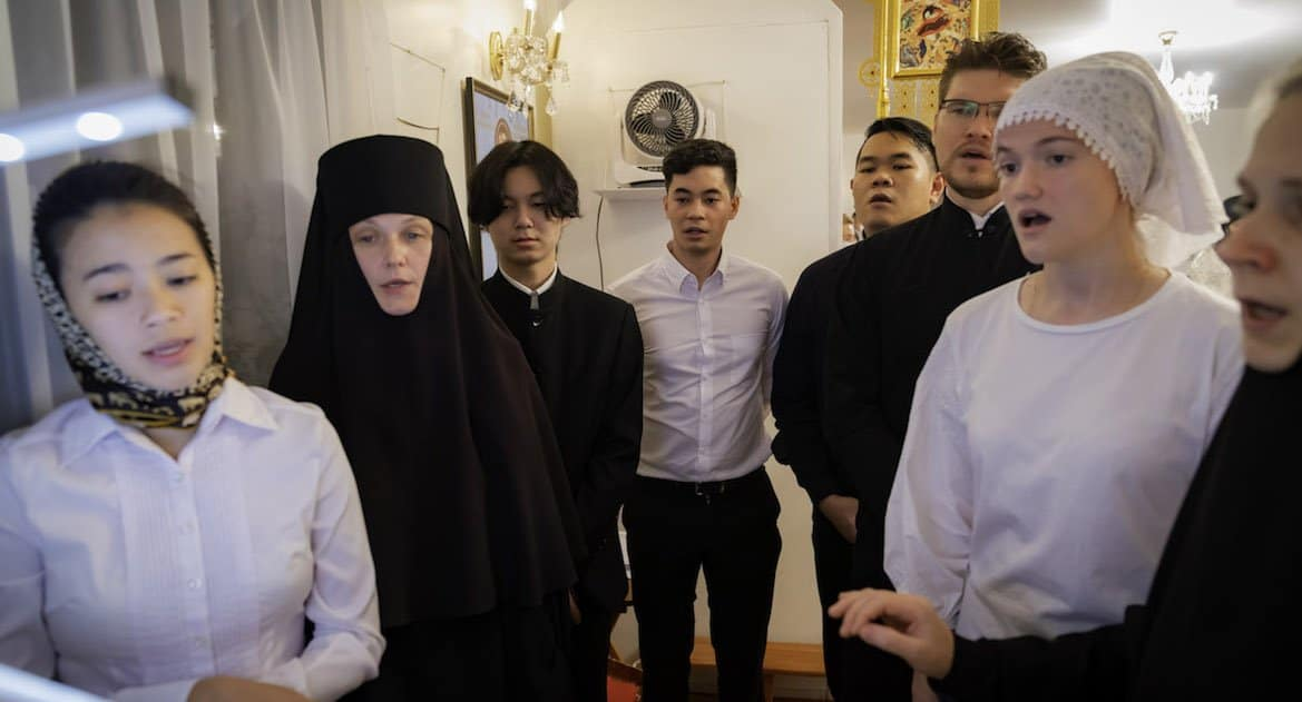 В Сингапуре на Рождество совершили Божественную Литургию