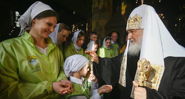 «Всегда есть нечто, что обнаруживает человеческую слабость», — цитаты Патриарха Кирилла о Фанаре, белорусских протестах,...