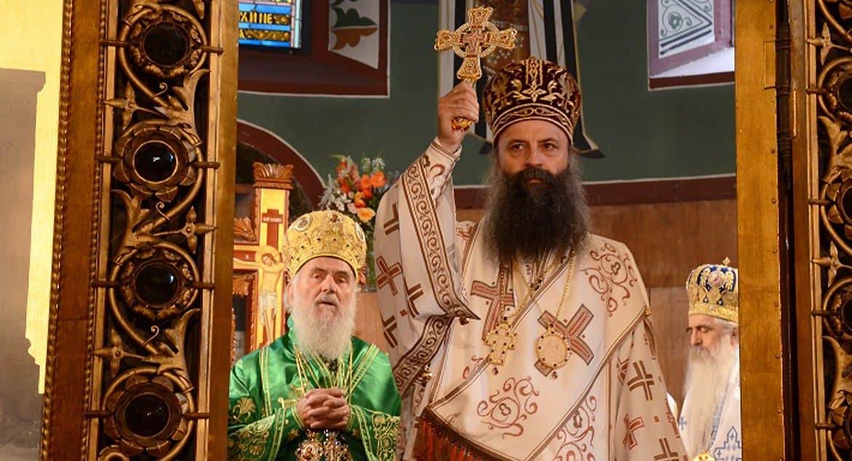 Литургия, Косово, единство: Патриарх Сербский Порфирий назвал главные цели своего служения