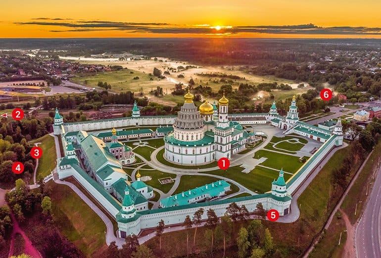 Воскресенский Ново-Иерусалимский монастырь: копия Святой Земли в Подмосковье