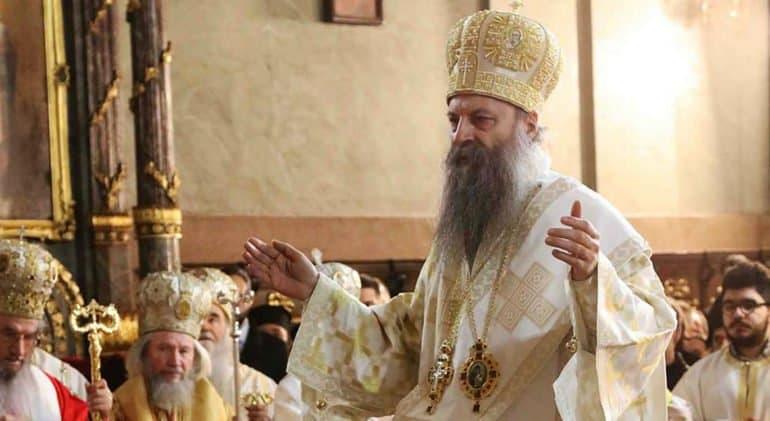 Мы на стороне Русской Церкви и канонов: Патриарх Сербский Порфирий о ситуации на Украине