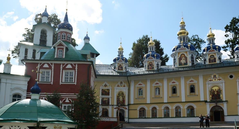 В Успенском соборе Псково-Печерского монастыря нашли фрагменты росписей