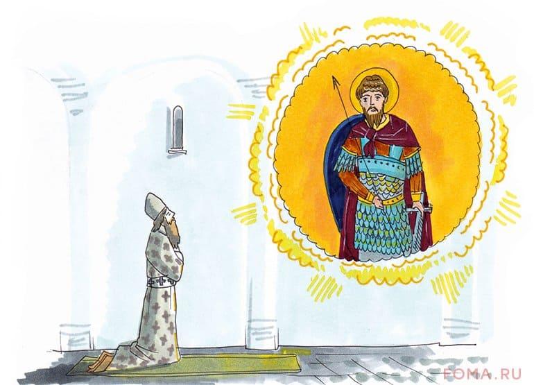 Как святой мученик Феодор Тирон христианам помог. История колива