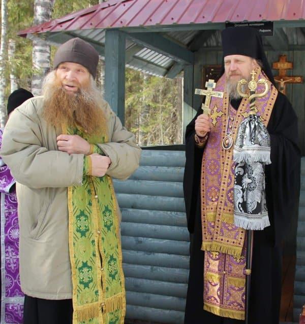 На месте бывшего лагерного пункта ВятЛага освятили часовню в честь новомучеников