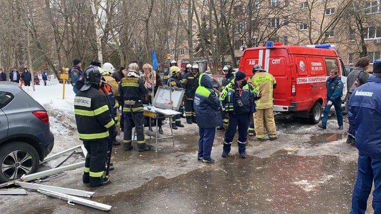 Не менее двух человек погибли и семи пострадали при взрыве газа в Химках
