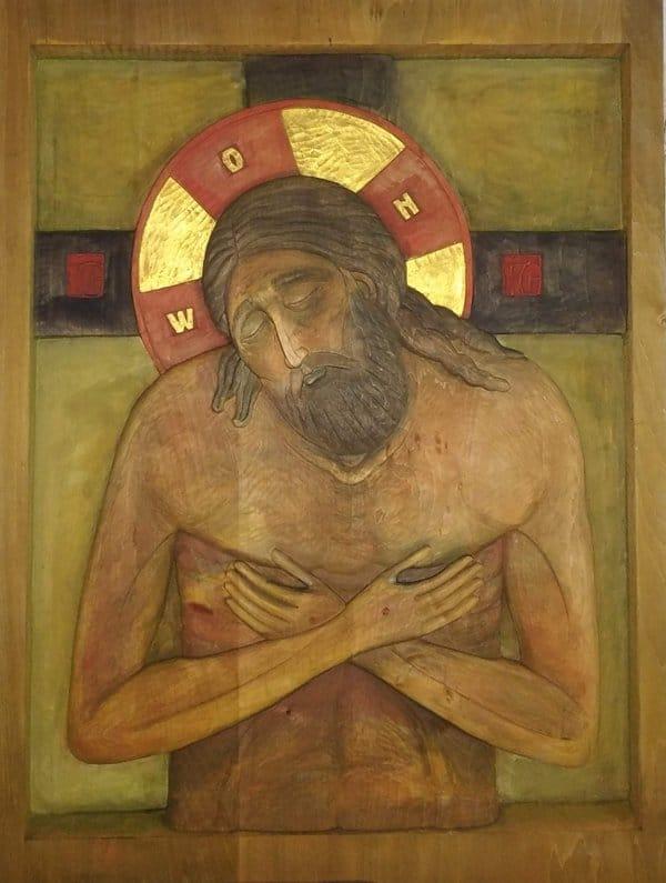 Необычные объемные иконы представили на I Биеннале христоцентричного искусства