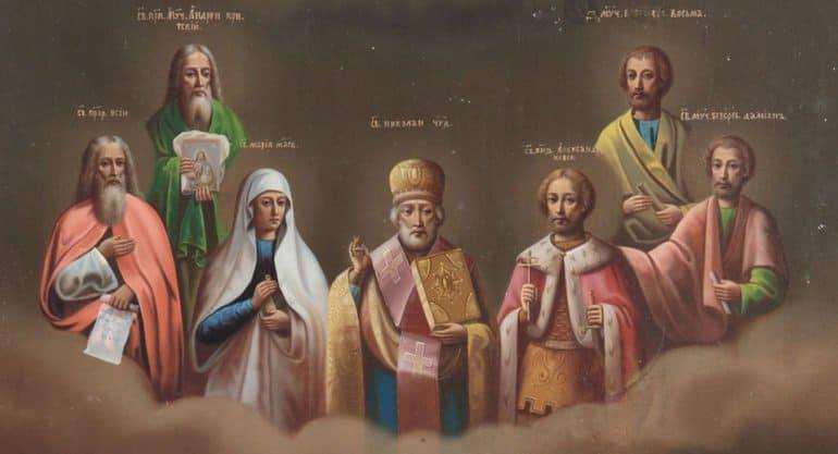 В Музее Андрея Рублева открылась выставка работ русского иконописца без рук
