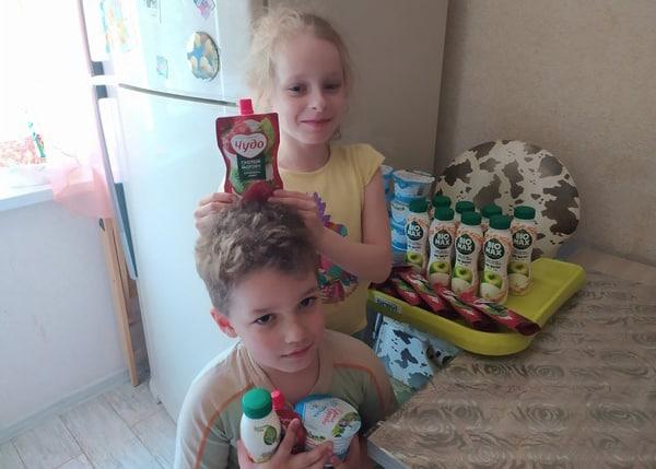 12 тонн молочной продукции передала нуждающимся Нижегородская епархия